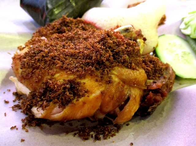 Penyet Bandong chicken