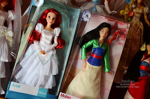 Ariel_Mulan disney store 2017 | by Lindi Dragon