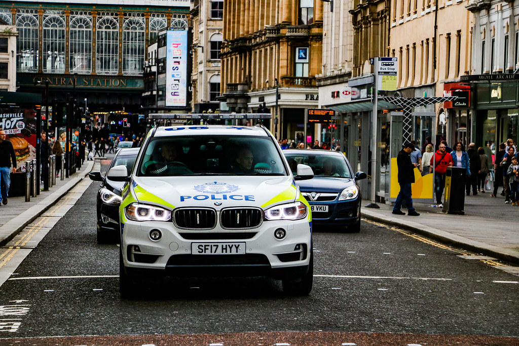 Police Scotland X5 Arv Sf17 Hyy A New Bmw X5 Armed