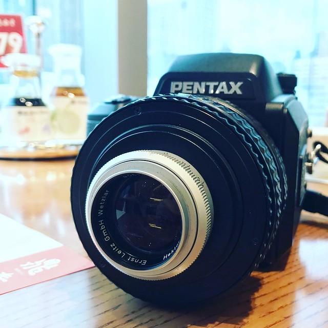 Leica 135mm f4.5 X 柯達電影菲林250D