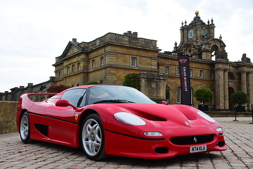 Ferrari F50, Blenheim Palace Classic & Supercar, Blenheim Palace 2017