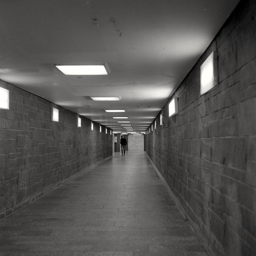 Urban Solitude - Walking down the Corridor | by ucn