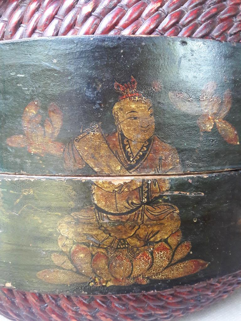 Bodhisattva Of The Scroll Lotus Flower Painting Basket Flickr