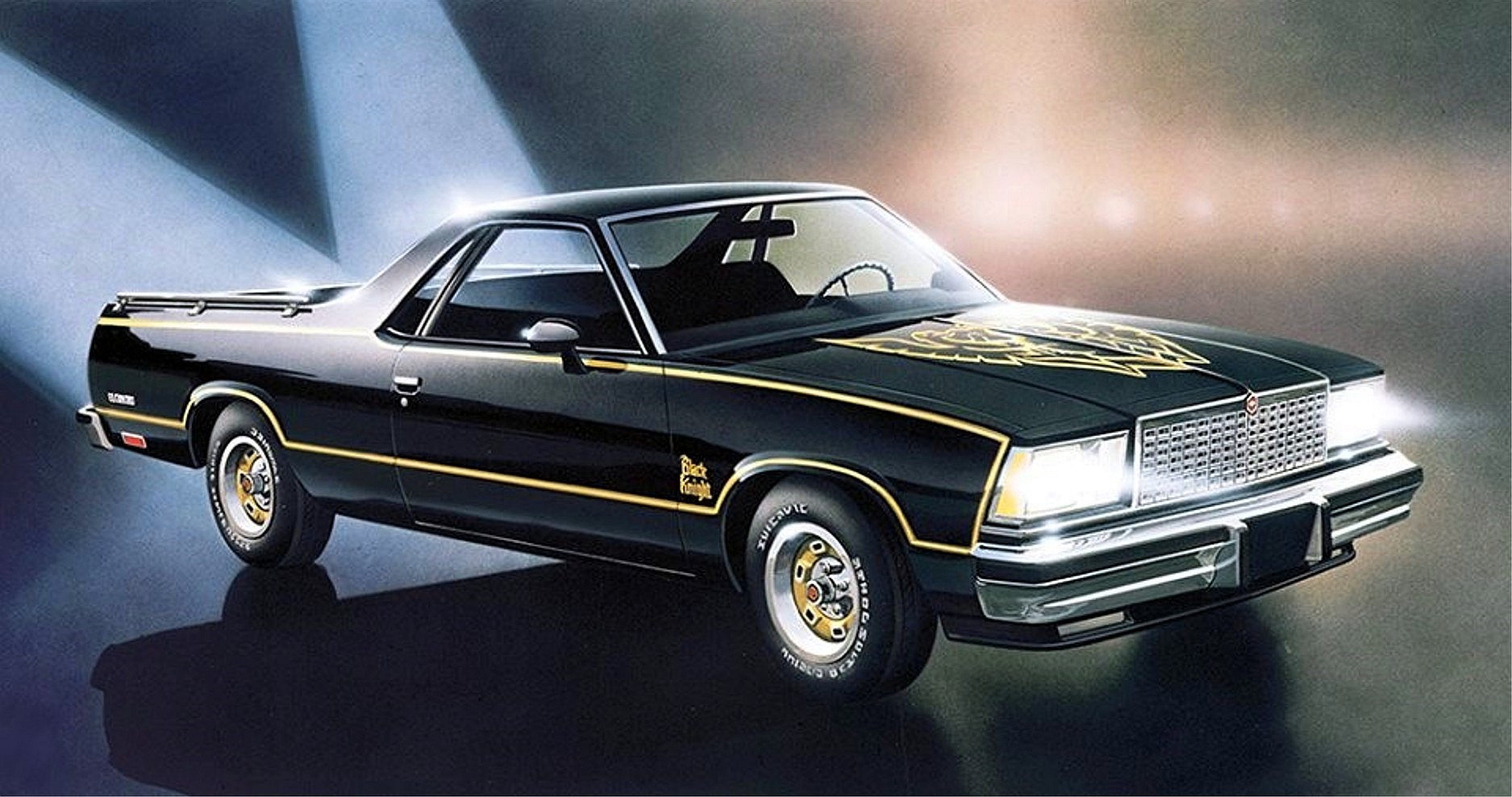 87 Monte Carlo Ss Black >> 1978 Chevrolet El Camino Black Knight