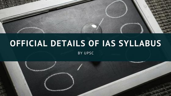 UPSC Civil Services Syllabus PDF   Download IAS Syllabus 2018, IAS Syllabus 2019 for Prelims & Mains