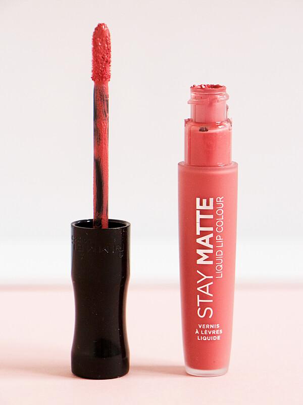 Rimmel Stay Matte Liquid Lip Colour in Pink Blink