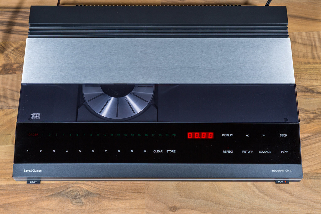 bang olufsen beogram cdx vintage cd player 1985 bang. Black Bedroom Furniture Sets. Home Design Ideas