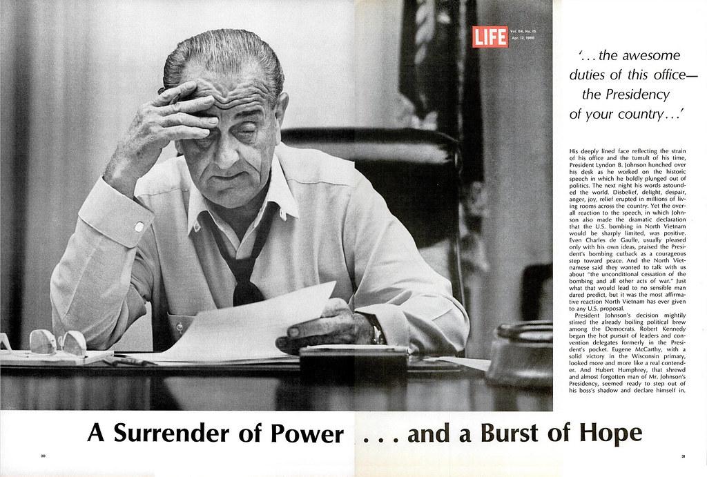 LIFE Magazine - April 12, 1968 (4) - A Surrender of Power
