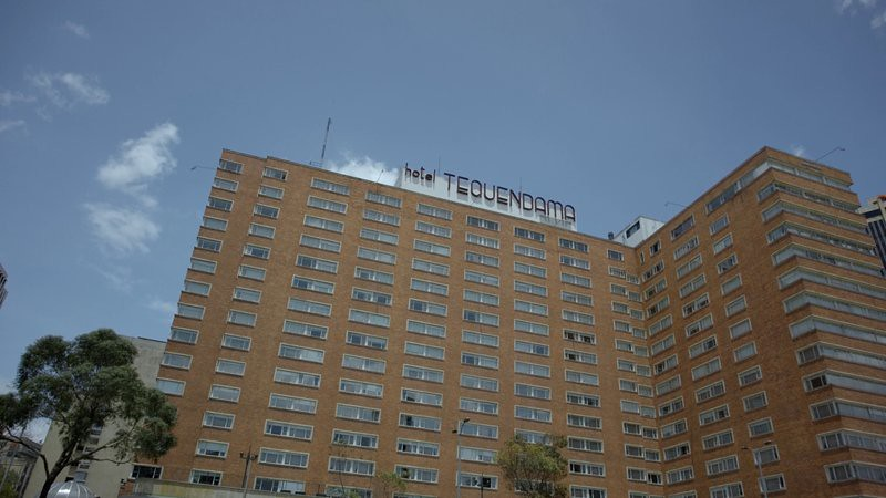 The hotel Tequendama in Bogota