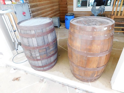 2 wooden rum barrels | by thornhill3