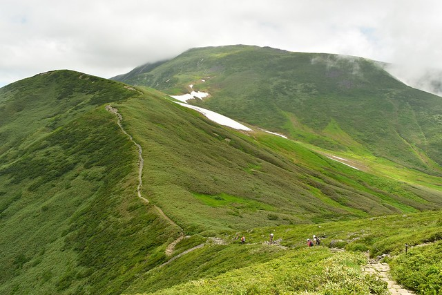 月山 稜線トレイル