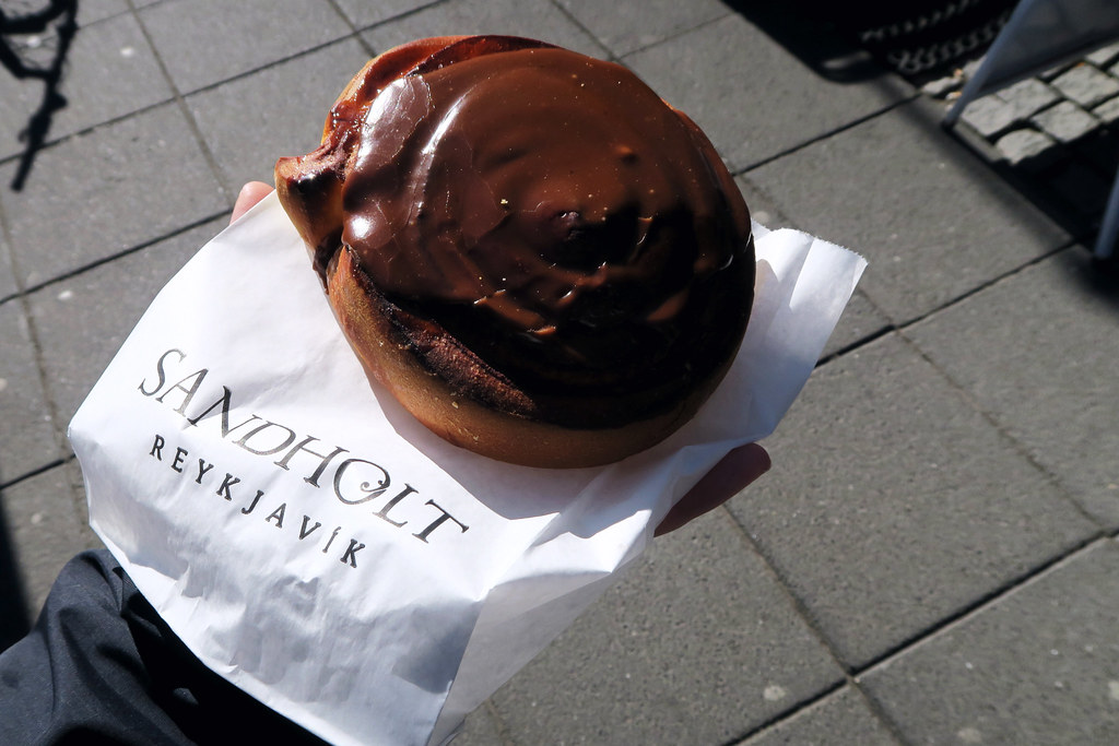 Pastry from the Sandholt Bakery, Reykjavik