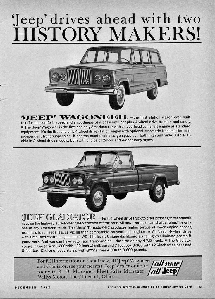 1963 Jeep Wagoneer Gladiator Alden Jewell Flickr