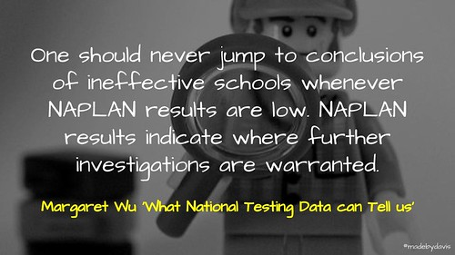 'What National Testing Data can Tell us' | by mrkrndvs