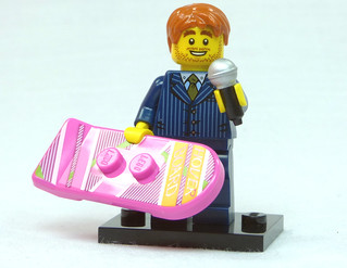 Brick Yourself Custom Lego Figure  Motivational Speaker with Hoverboard | by BrickManDan