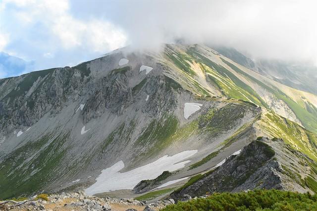 立山~別山の白き稜線
