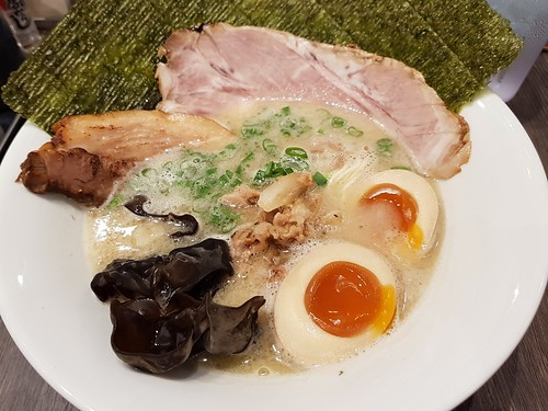 Tonkotsu Ramen with All Toppings