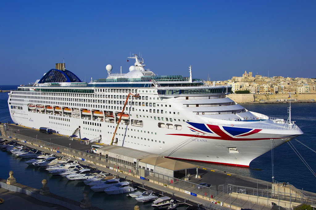 oceana p o cruises ship oceana in malta k b flickr