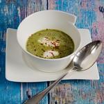Lea Linsters Feine Suppe vom Radieschengrün
