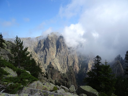 Col du chaînon de Pta di San Gio Agostinu : Taula partie SE de Punta di u Furnellu
