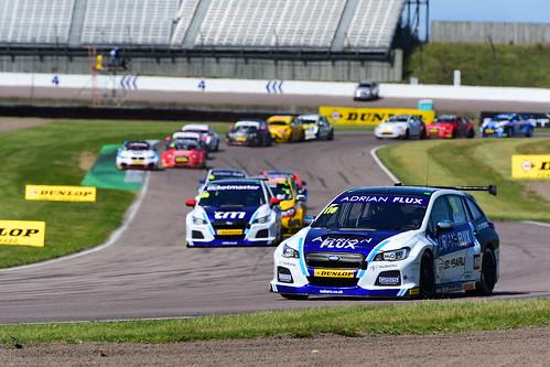 Ashley Sutton, Subaru Levorg, British Touring Car Championship, Rockingham 2017