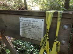 Moores Creek Bridge Signage