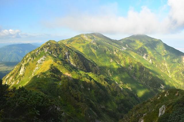 北アルプス・大日三山縦走登山