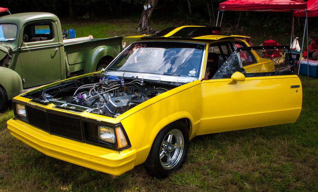 1980 Malibu Drag Car   2017 Carolina Pushrodz \