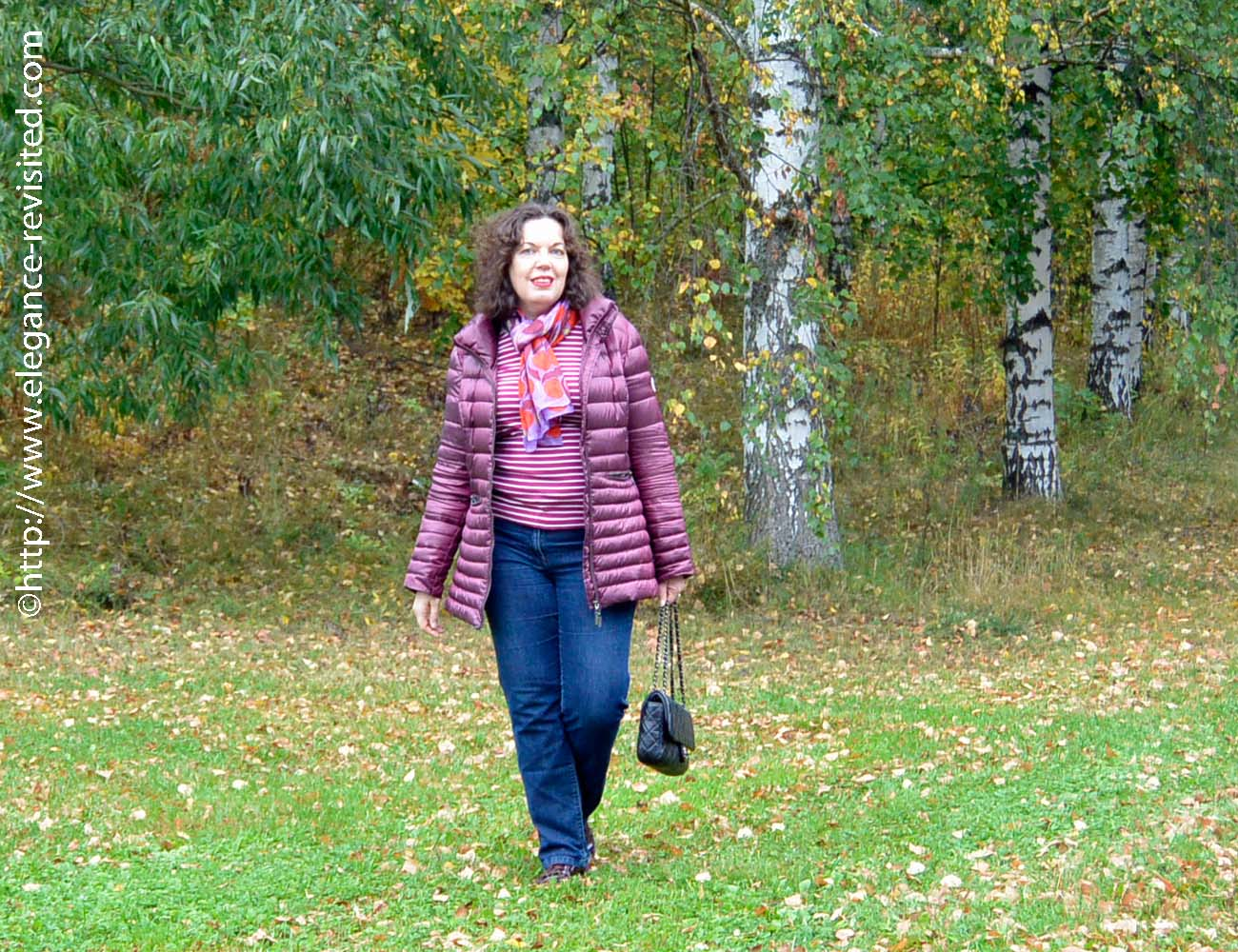 casual fall style over 40