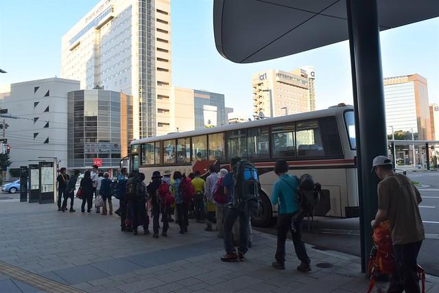富山駅~折立行きバス