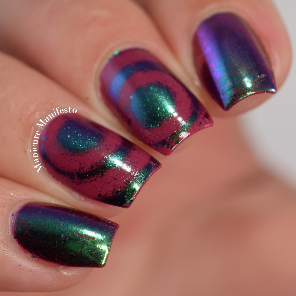Gel effects with regular polish