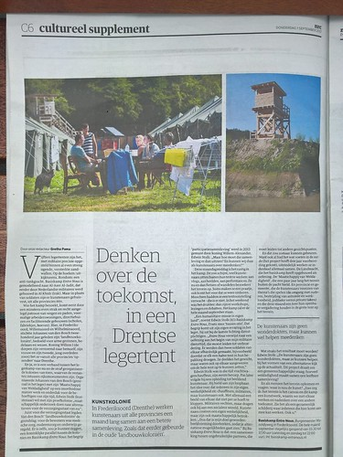 Basiskamp Entre Nous in NRC | by Edwin Stolk