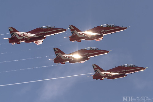 Red Arrows Winter Training | by MH Motorsport/Aviation Photography
