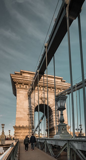 Chain Bridge in Budapest | by Bezemnod
