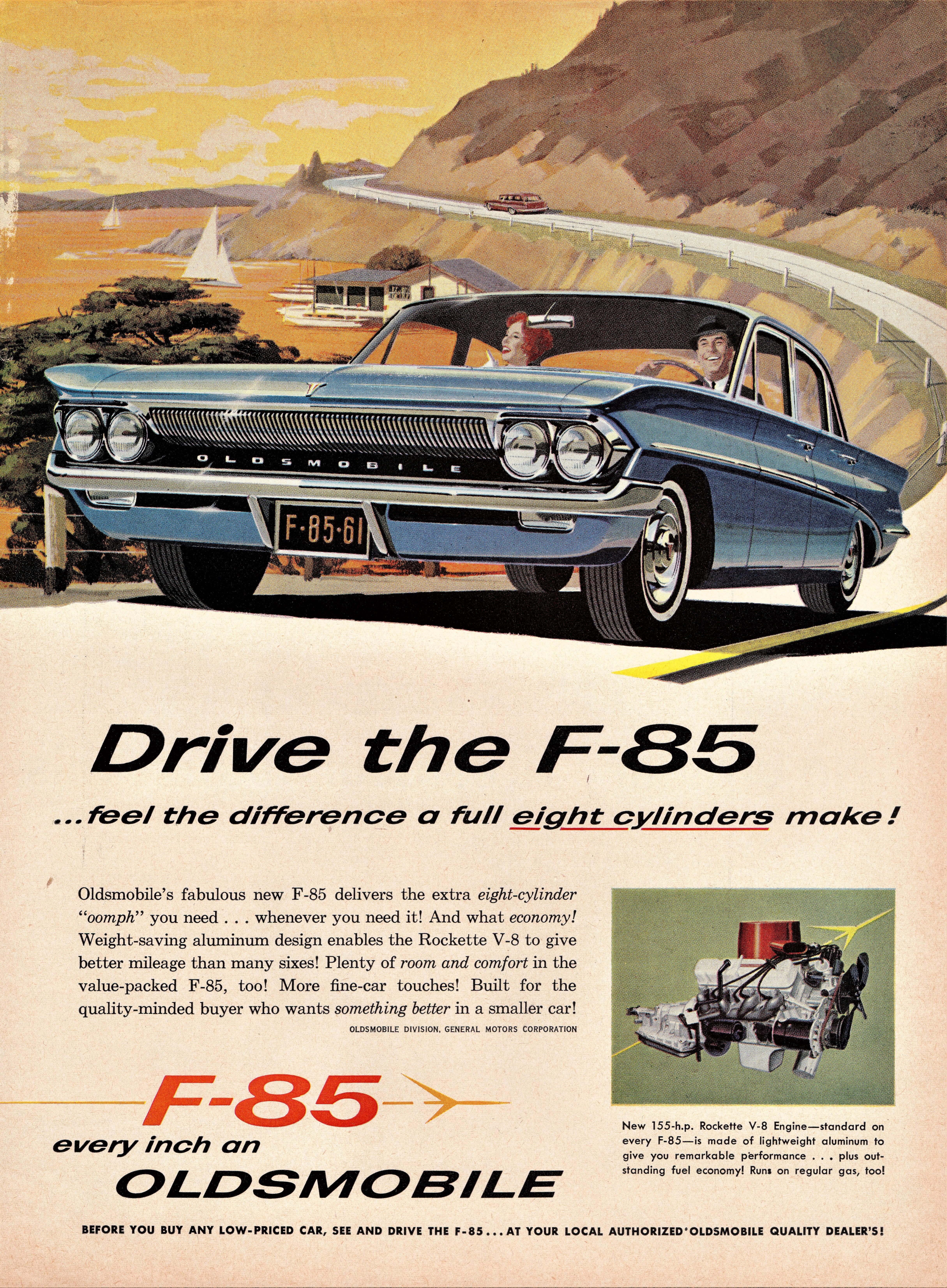 1961 Oldsmobile F-85 4-Door Sedan
