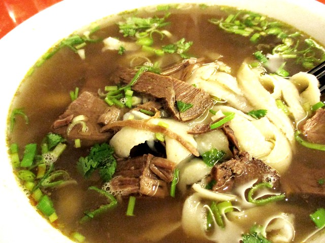 Restoran Muhajirin sliced noodles in clear beef soup