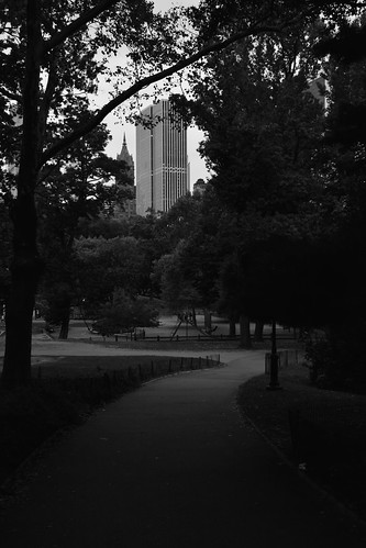 Central Park, Early Evening 10 B&W | by C.M. Keiner