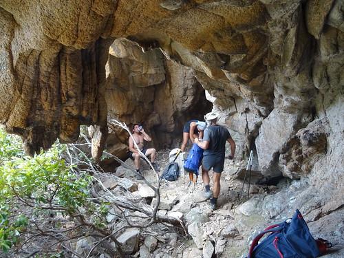 Sapara Tafunata : dans la grotte