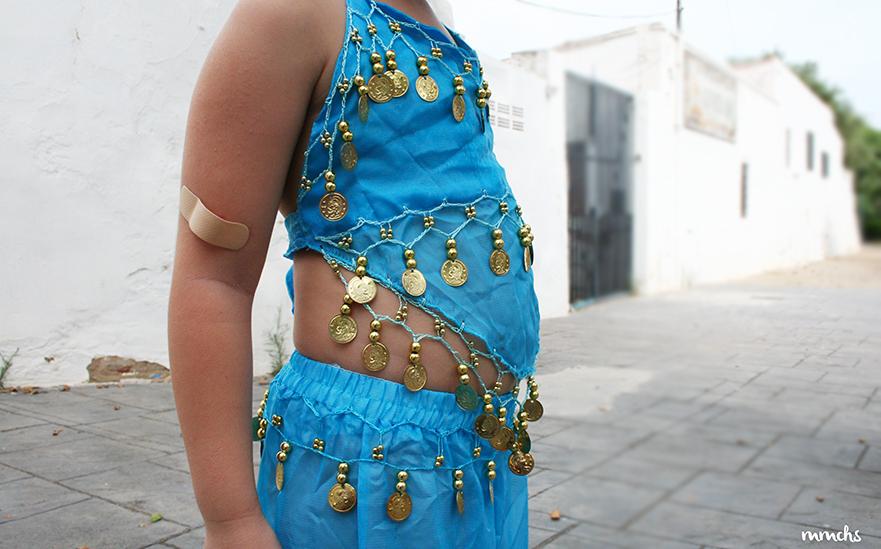 Disfraz Mora infantil para niña