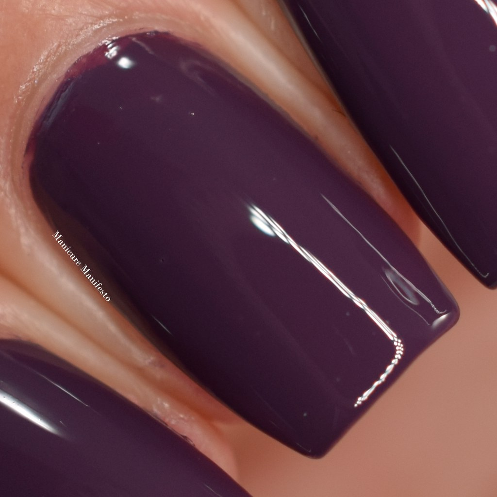 Mary Kay Violet Silk nail polish swatch