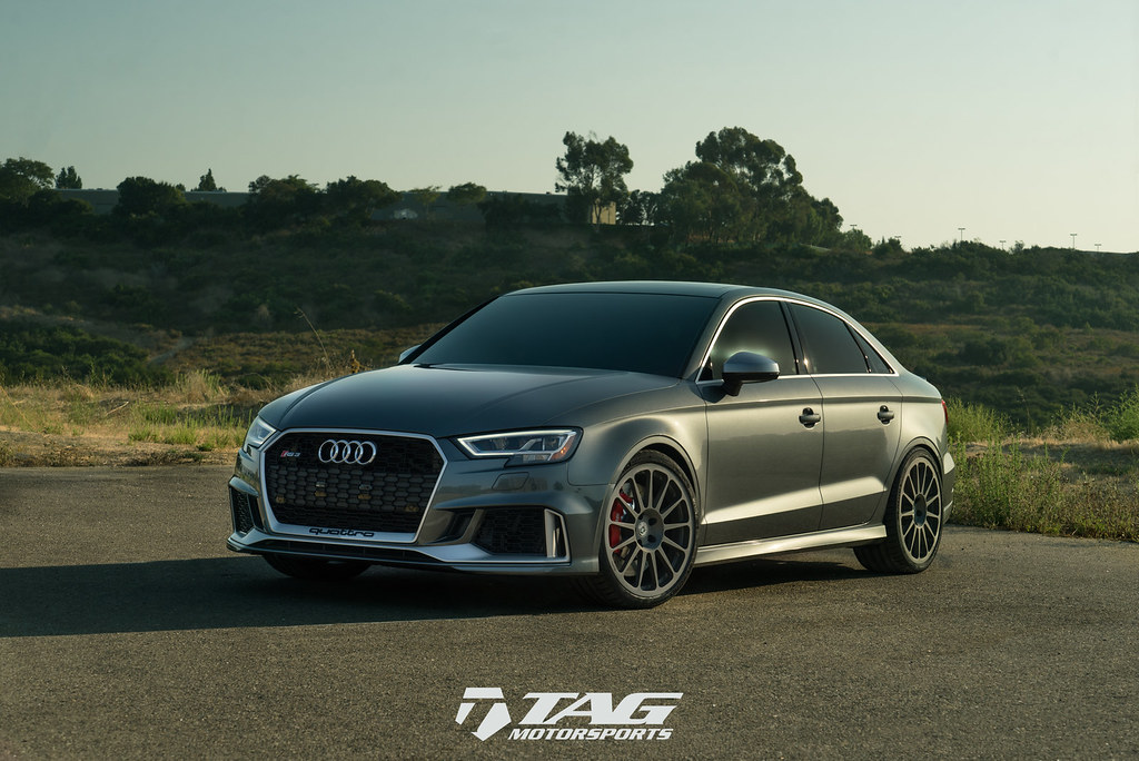 HRE Wheels | 2018 Audi RS3 with HRE Classic 303M Wheels in Satin Charcoal! - 6SpeedOnline ...