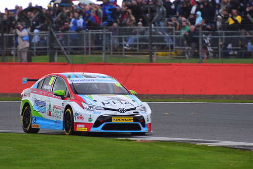 Tom Ingram, Toyota Avensis, British Touring Car Championship, Silverstone 2017