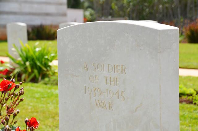 Headstone, Souda Bay War Cemetery, Crete