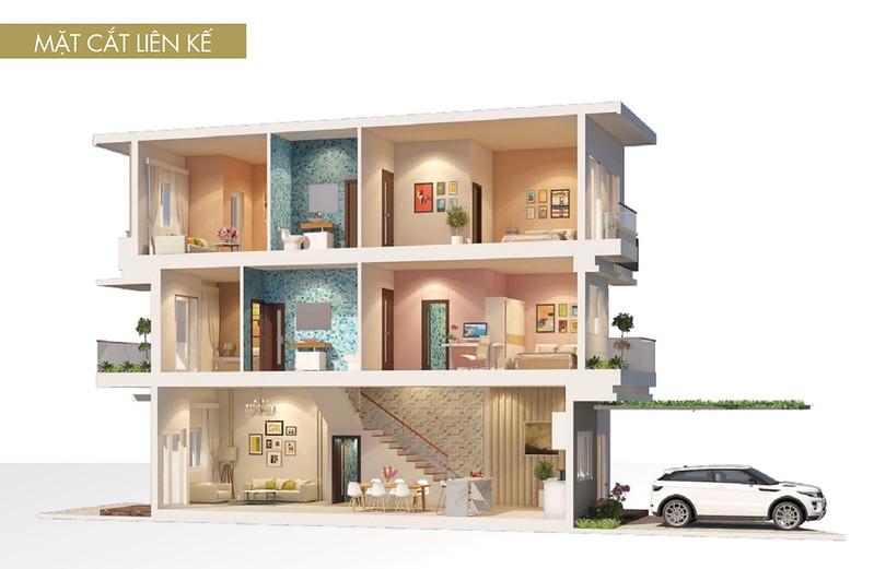 12 thiết kế mẫu nhà liên kế tại RioVista quận 9 2