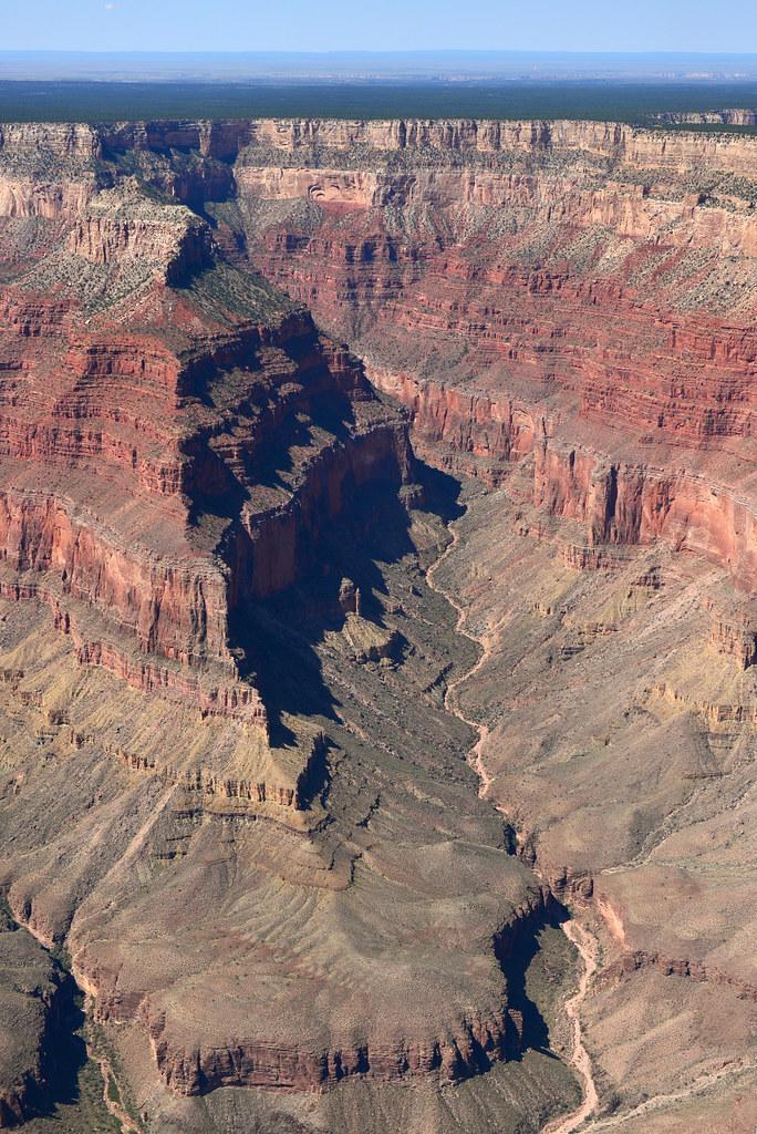 Gran Caón del Colorado desde helicóptero