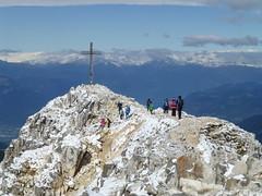 Zum Gipfel der Weisshornspitz