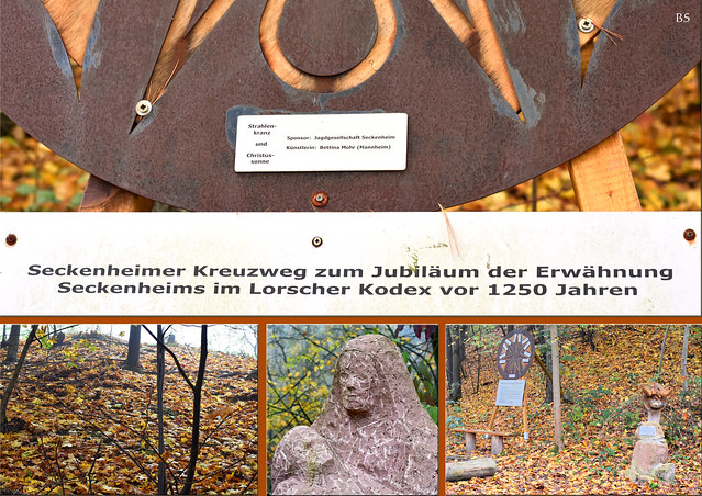 Kalvarienberg, Kreuzgang - Dossenwald Mannheim - November 2017 ... Foto: Brigitte Stolle