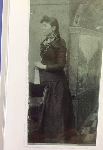 Lucinda Collins, mother of Bessie, grandmother of Clara, great-grandmother of Shannon  (me!). | by wvclaylady