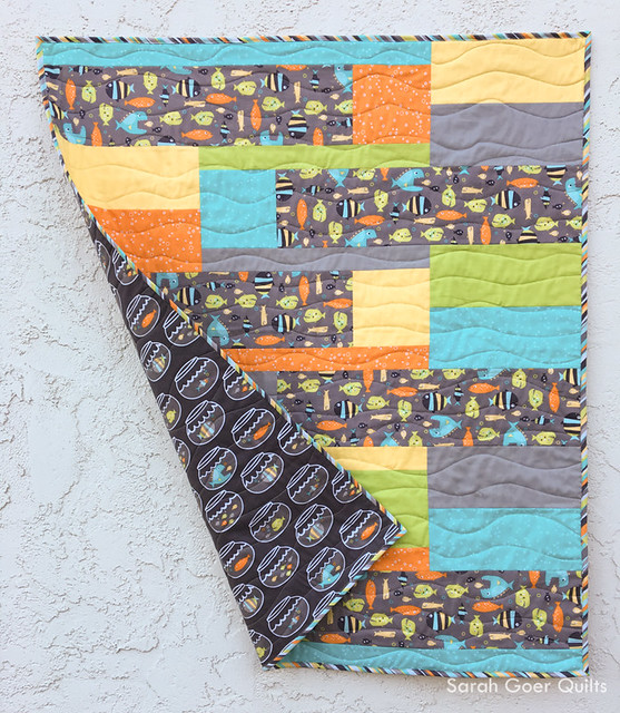New Release: Back and Forth Baby Quilt Pattern - Sarah Goer Quilts