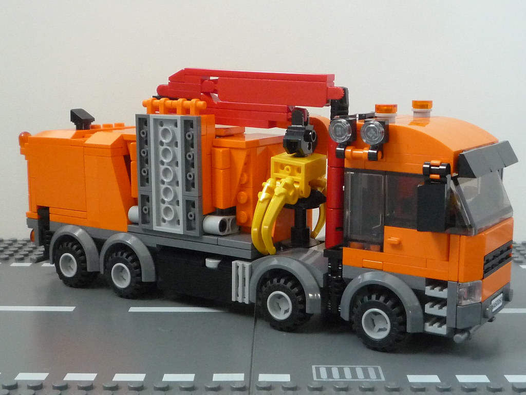 le camion dchiqueteur lego by waly7721 - Camion Lego